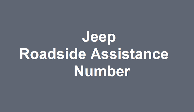 Jeep Roadside Assistance Number