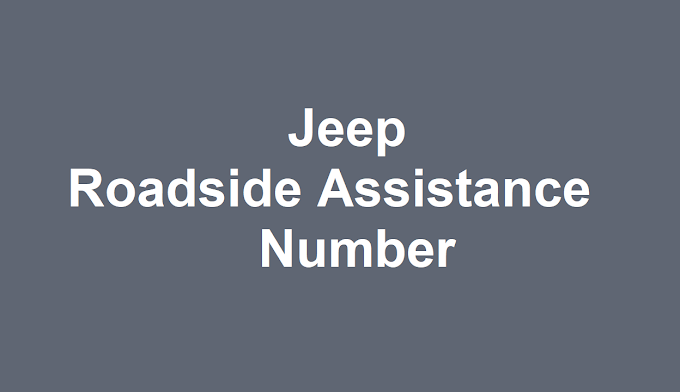 Jeep Roadside Assistance Number 2021