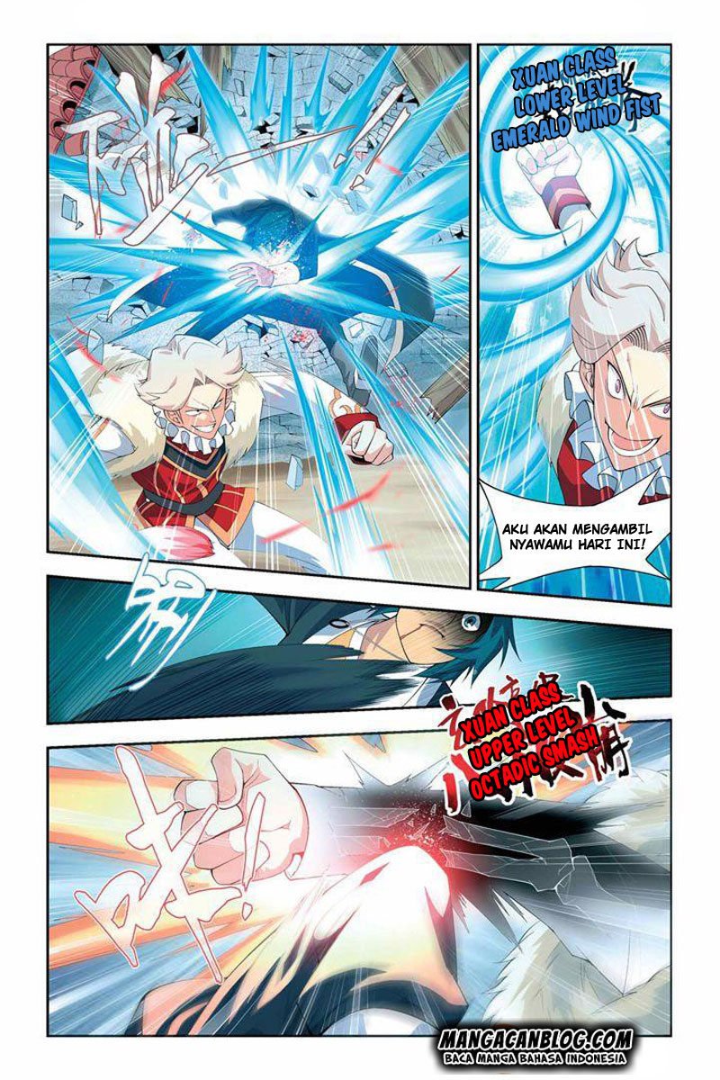 Battle Through Heaven Chapter 16-19