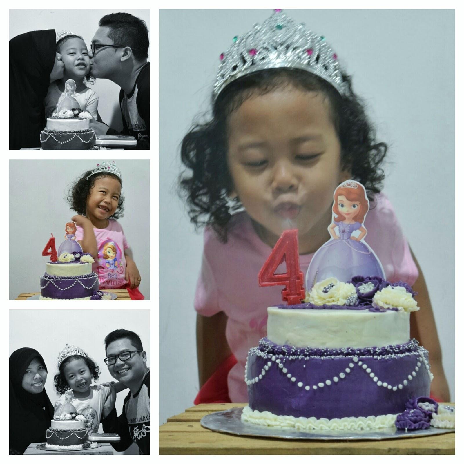 Cerita Reena Tart Princess Sofia Untuk Ultah Nonik