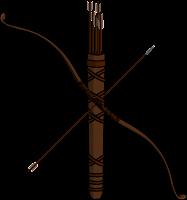 Символ Пунарвасу (колчан со стрелами)