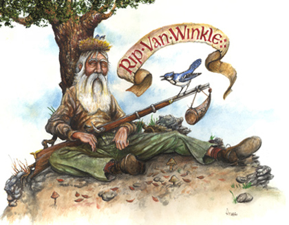 Rip Van Winkle by Washinton Irving
