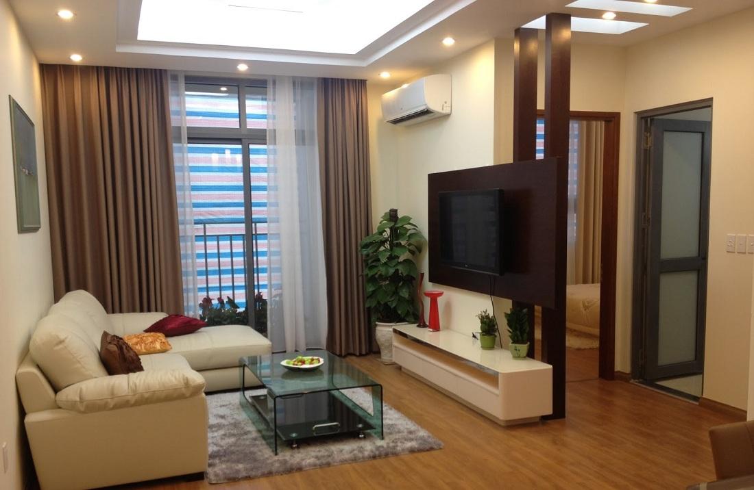 Bố trí cây xanh trong căn hộ Parkview Residence