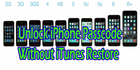 Unlock iphone without itunes account