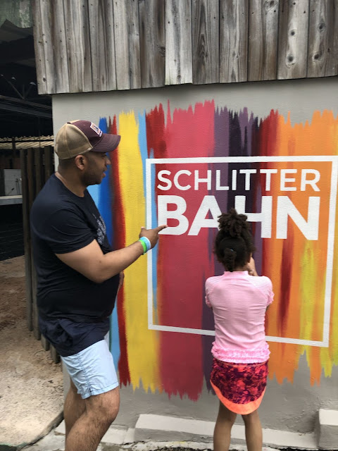 Schlitterbahn New Orleans Photo Wall