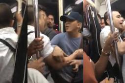 Isang lalaki, minanyak umano ng isang pasahero sa loob ng LRT