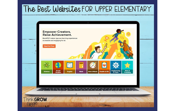The Best Websites to Save for Upper Elementary Classrooms