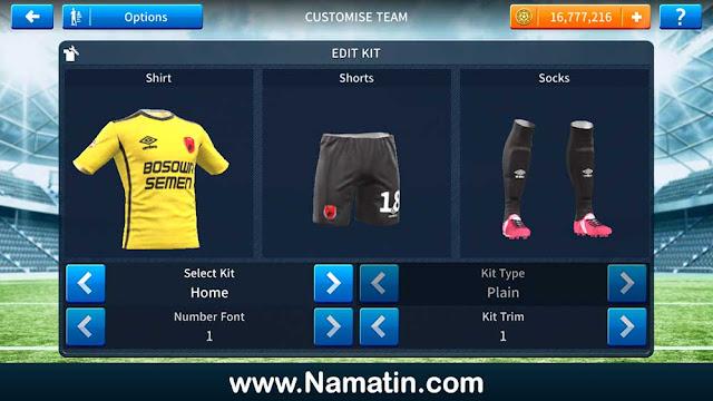 Kaos Dream League Soccer PSM Makassar