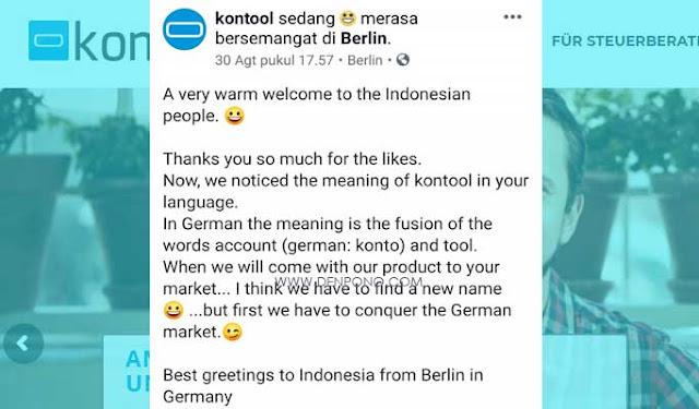 baru ini sedang trending viral di Indonesia sebuah perusahaan start up bernama agak nyelen Apa Itu Kontool? dan Kenapa Viral di Indonesia? Berikut Ulasan Lengkapnya