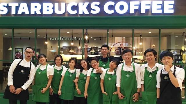 Lowongan Kerja Full Time & Part Time Barista Starbucks Indonesia Area Cilegon dan Tangerang