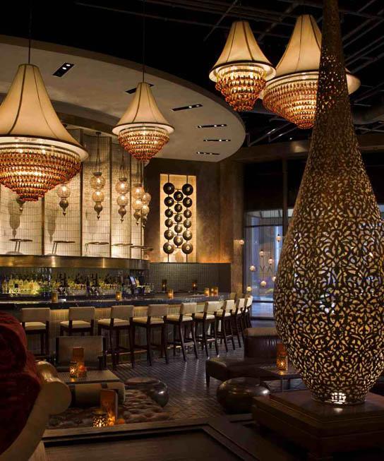 .: LAVO, LAS VEGAS RESTAURANT / Interior Design