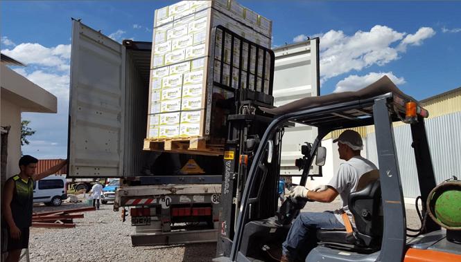En mayo, las exportaciones de Mendoza siguieron creciendo en volumen a pesar de la pandemia