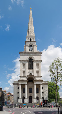 Christ Church, Spitalfields (Photo by DAVID ILIFF. License: CC BY-SA 3.0)