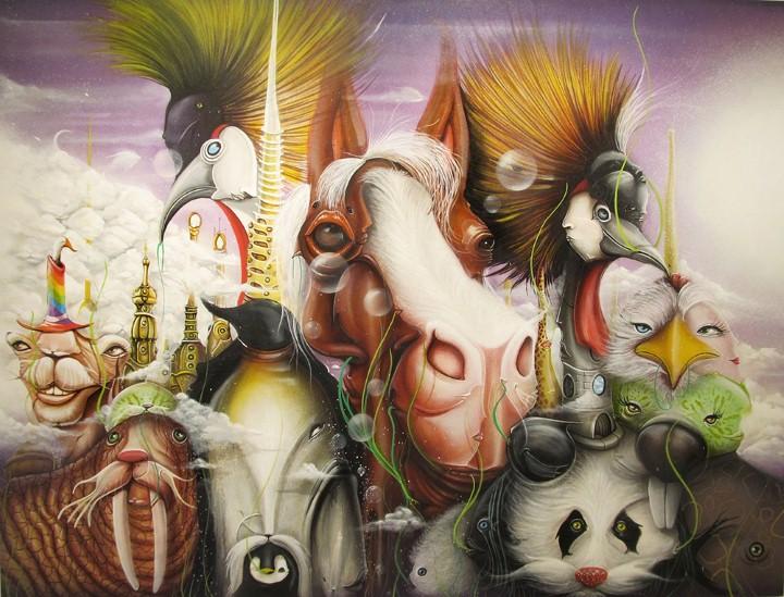 Andre Muniz Gonzaga. Street Art художник 27