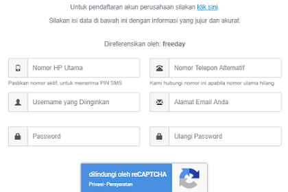 Cara Mudah Daftar Akun di Indodax