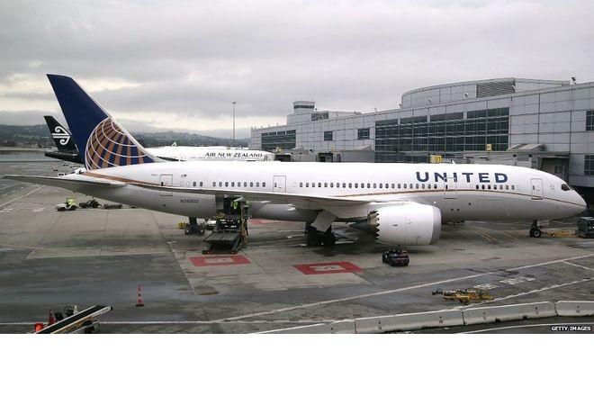 Desde La Terraza De Amador Todos Los Aviones De United