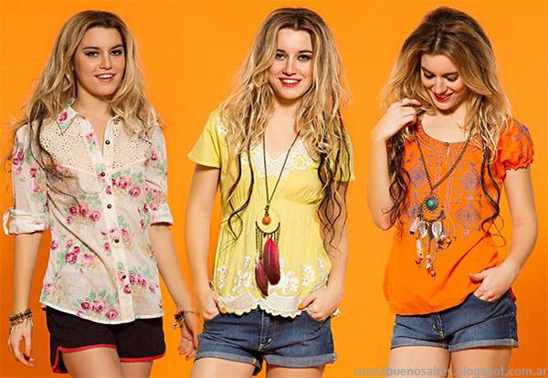 a655c1135 Moda primavera verano 2015. Shorts Sophya primavera verano 2015 ropa de  mujer.