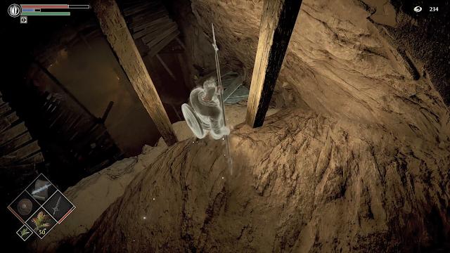 Tunel Colmillo de Piedra Suicidio Demon's Souls Remake