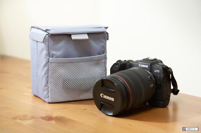 【開箱】輕巧收納好方便,HAKUBA 可折相機內袋 - HAKUBA 可折相機內袋比較適合小型無反來做使用