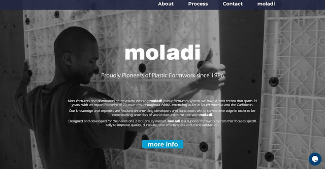 reusable modular plastic formwork