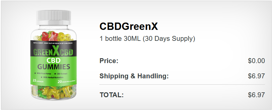 Green X CBD Gummies (Read) Benefits, Side Effects amp; Price Before Buy! |  homify