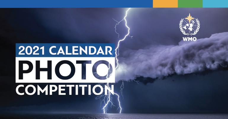 Concours de Photo calendrier de l'Organisation météorologique