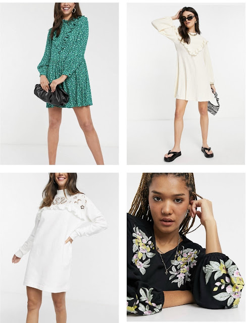 maryland influencer fashionafter40 fall dresses under 30 asos sale teacher style