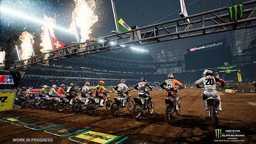 Monster Energy Supercross - The Official Videogame 2 Gameplay