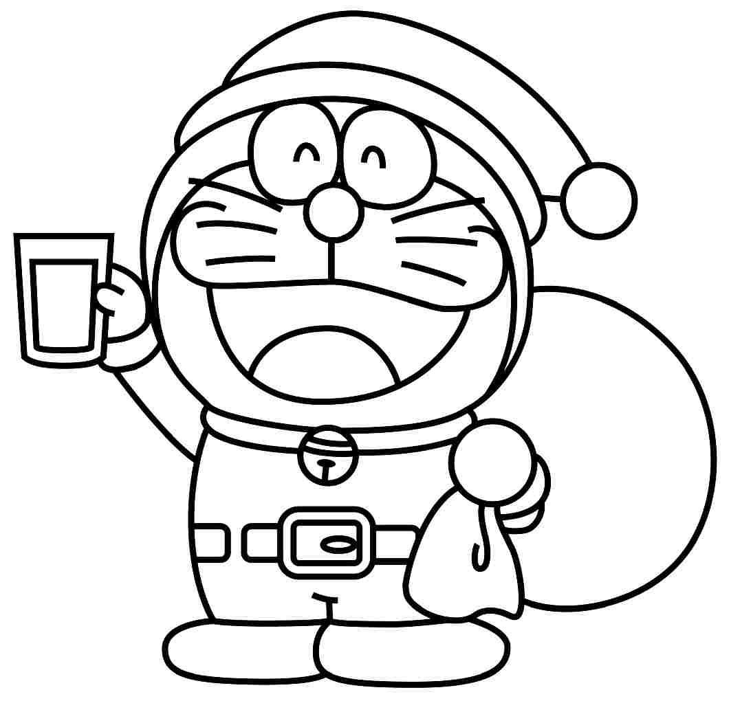 Mewarnai Doraemon