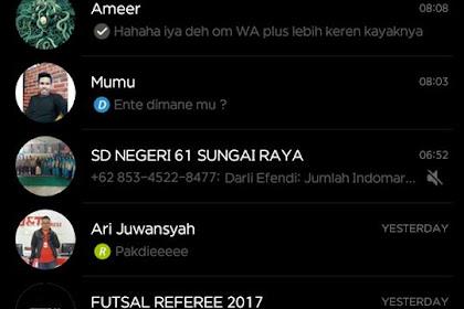 WhatsApp Mod BLACK V.2.17.351 Apk