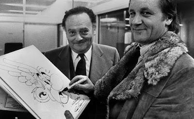 Ρενέ Γκοσινί και Αλμπέρ Ουντερζό, οι δημιουργοί του Αστερίξ / Rene Goscinny & Albert Uderzo
