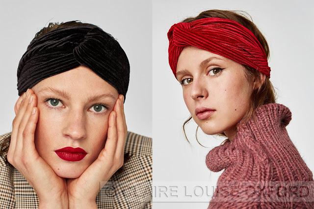 Zara | Dove comprare fasce per capelli in velluto