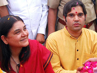 bjp-changes-seats-of-maneka-and-varun-gandhi