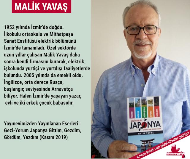 Gezi-yorum Japonya kitabının Yazarı Gezgin Malik Yavaş