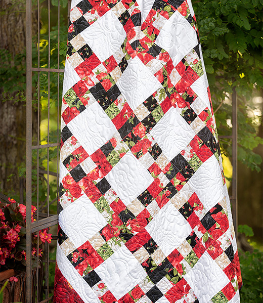 Tile Style Quilt designed by Jenny of Missouri Quilt Co