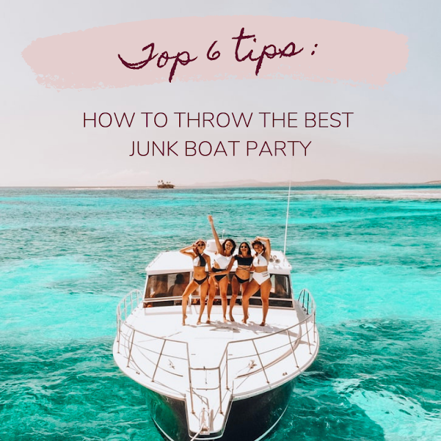how to throw best junk boat party hong kong