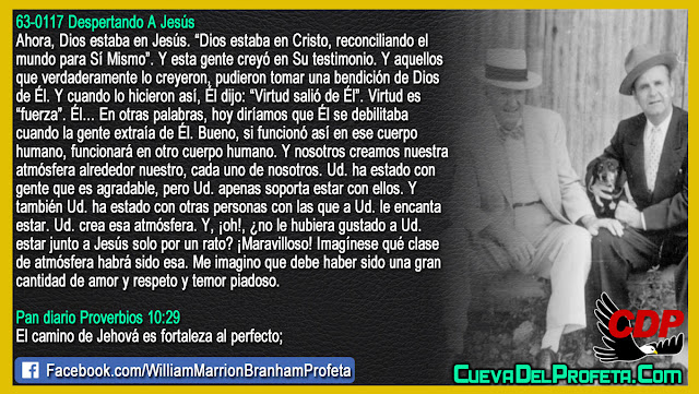 Una gran cantidad de amor y respeto y temor piadoso - William Branham en Español