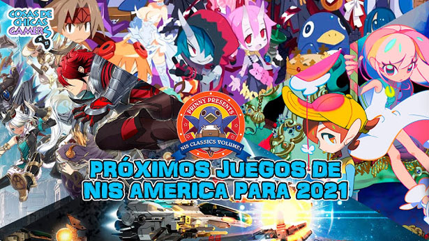 Lanzamientos NIS America 2021