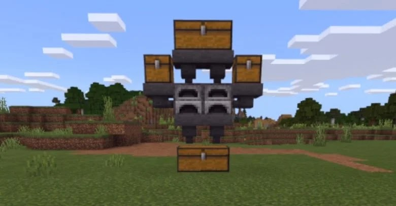 Minecraft: How To Make A Farming Machine Infinite Experience