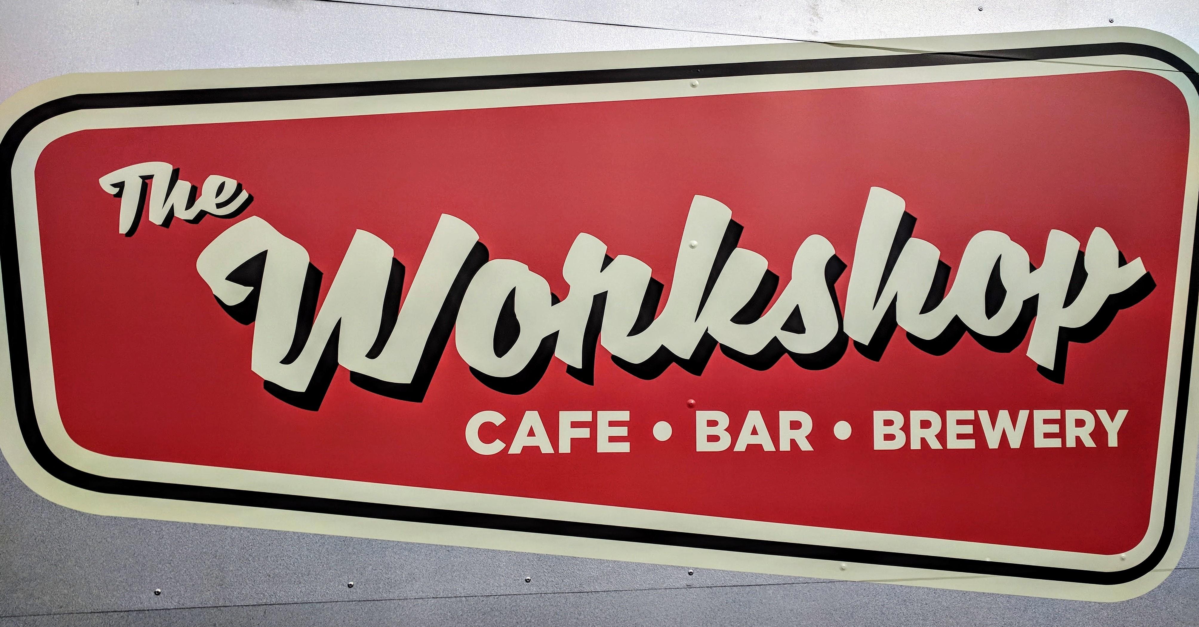 The 'Wonkshop' sign