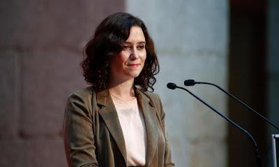 Isabel Díaz Ayuso, expresidenta de la Comunidad de Madrid