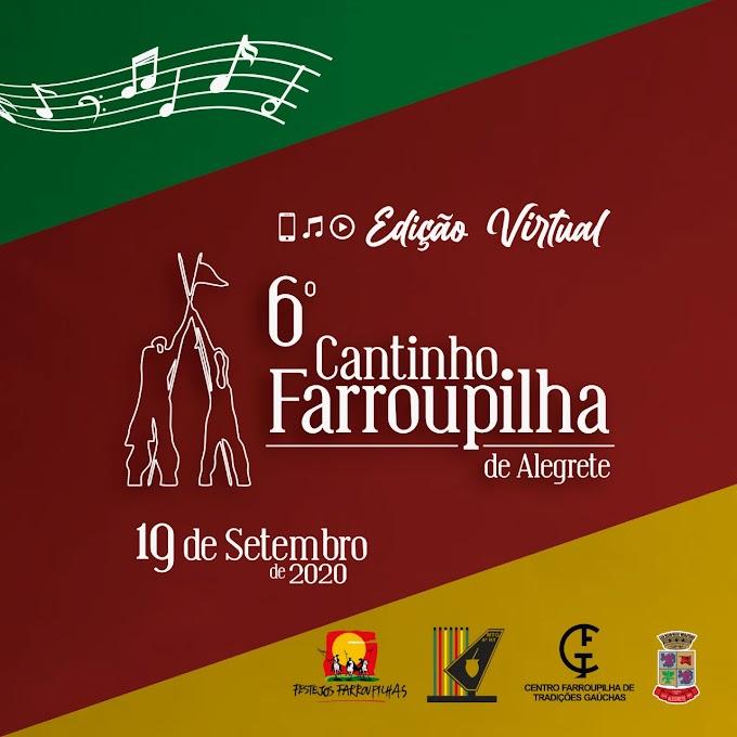 O 6º Cantinho Farroupilha já tem seus intérpretes classificados