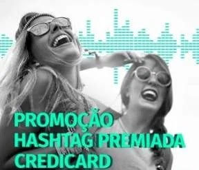 Promoção Credicard Hashtag Premiada - Pares Ingressos Shows Itaipava de Som a Sol