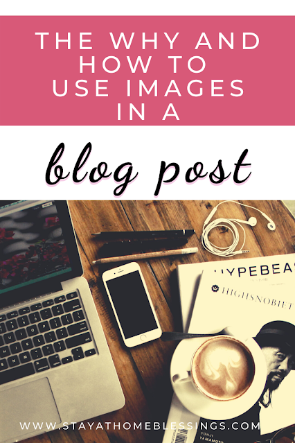 how to use images in blog post