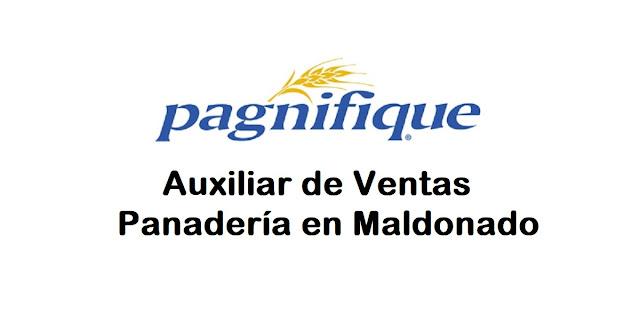 Auxiliar de Ventas para Panadería en Maldonado