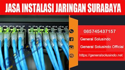 jasa penarikan kabel fiber optik surabaya