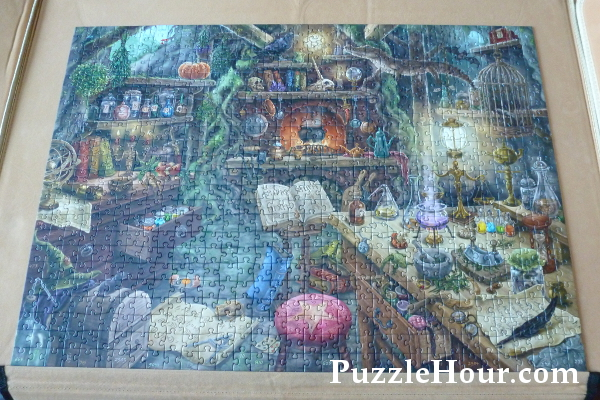 Ravensburger exit escape jigsaw puzzle the witch's witches kitchen completed spoilers complete