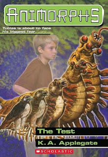 A hawk (Tobias) turns into a multi-legged alien (a Taxxon)