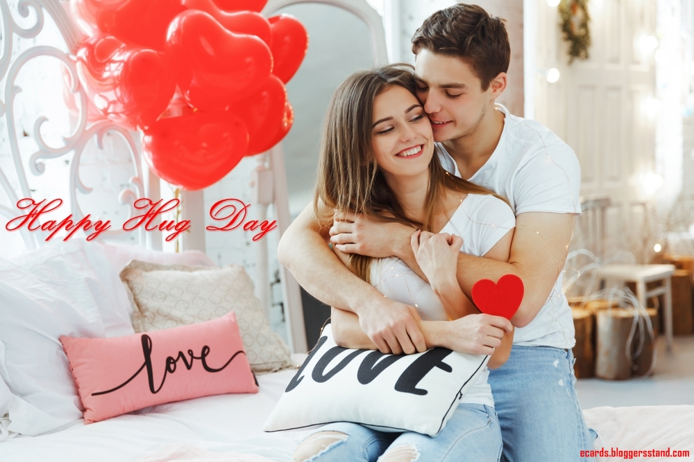 Happy Hug Day Date 2021 images wishes for husband pics with quotes
