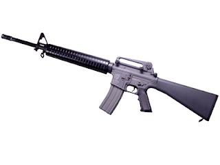 Senapan Serbu Terbaik M16
